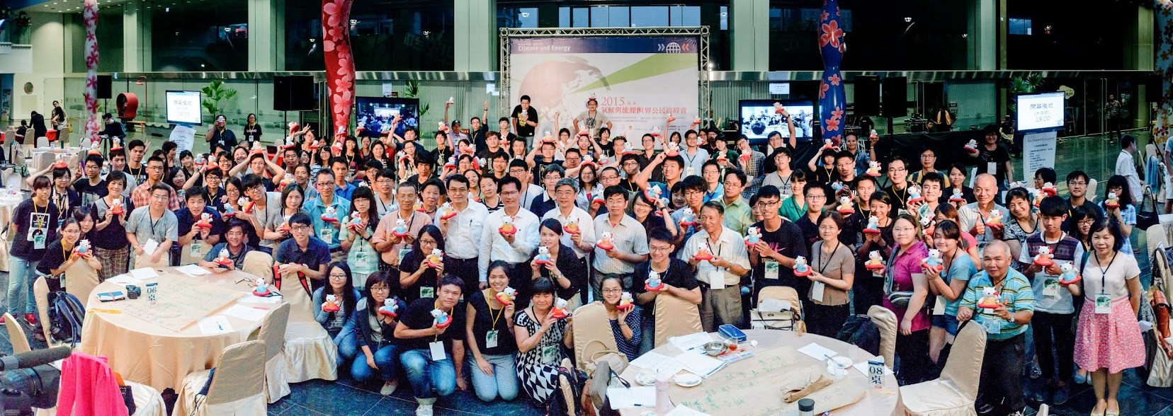 Citizens group photo Taichung